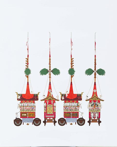 『祇園祭山鉾絵図』より「長刀鉾」