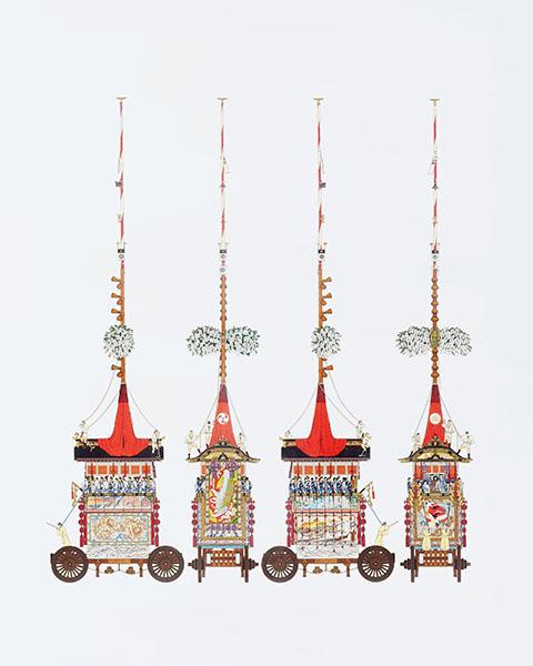 『祇園祭山鉾絵図』より「菊水鉾」