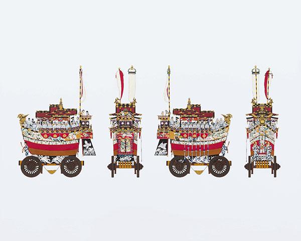 『祇園祭山鉾絵図』より「船鉾」