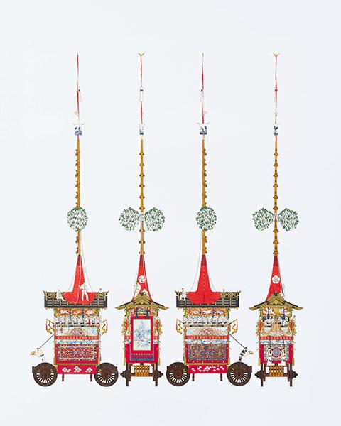 『祇園祭山鉾絵図』より「月鉾」